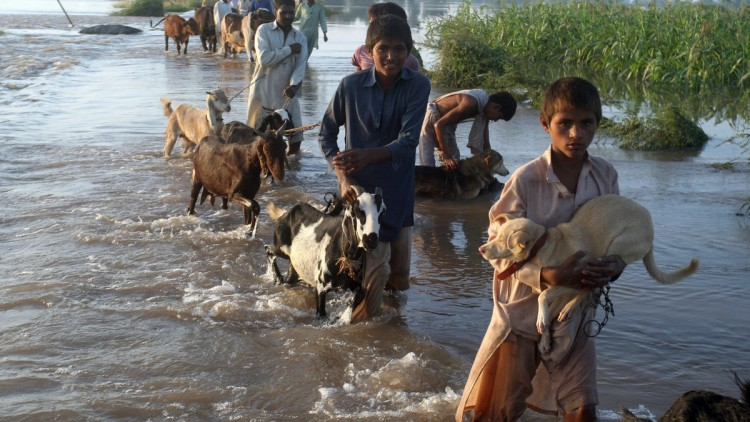 Massive Flooding in Pakistan